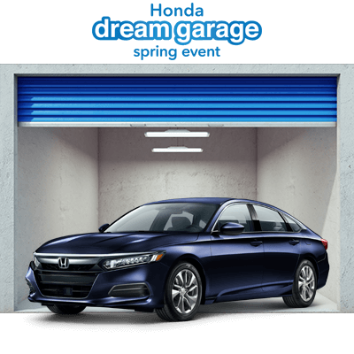 Honda Dream Garage 2019 Accord Button