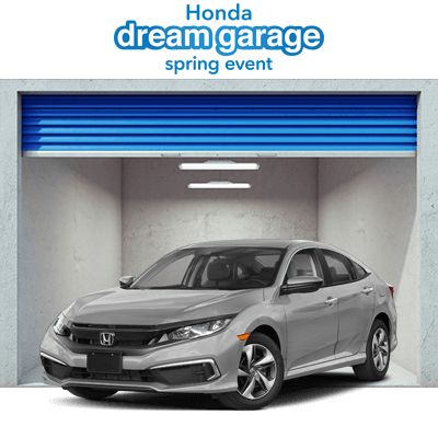 Honda Dream Garage 2019 Civic Sedan Button