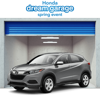 Honda Dream Garage 2019 HR-V Button