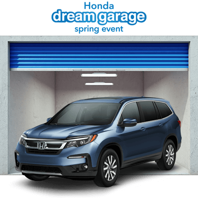 Honda Dream Garage 2019 Pilot Button