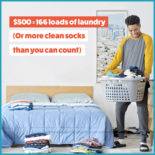 Honda College Graduate Bonus: Laundry Graphic