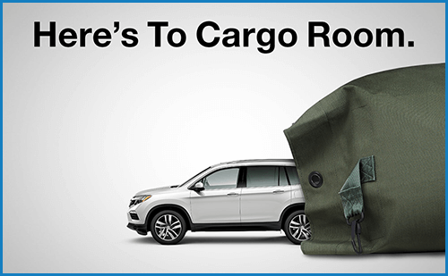 Honda Military Appreciation Offer: Cargo Image