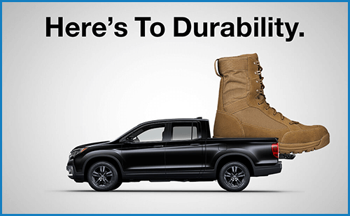 Honda Military Appreciation Offer: Durability Image