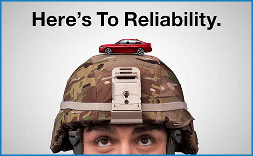 Honda Military Appreciation Offer: Reliability Image