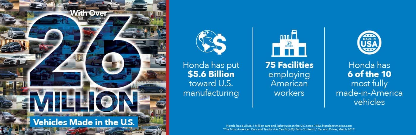 Honda Made in America Banner