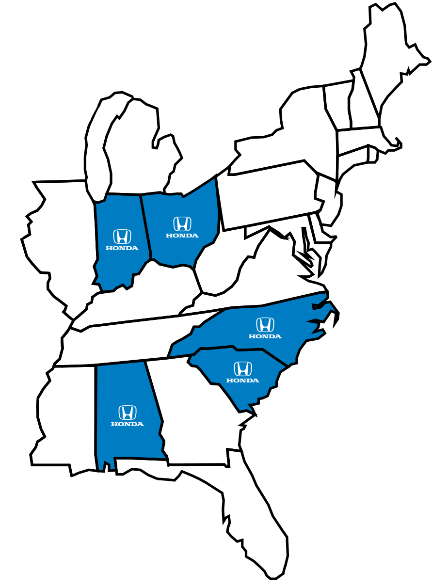 United States Honda Plant Locations