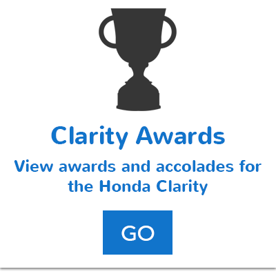Honda Clarity Awards Button
