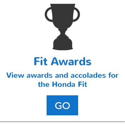 Honda Fit Awards Button