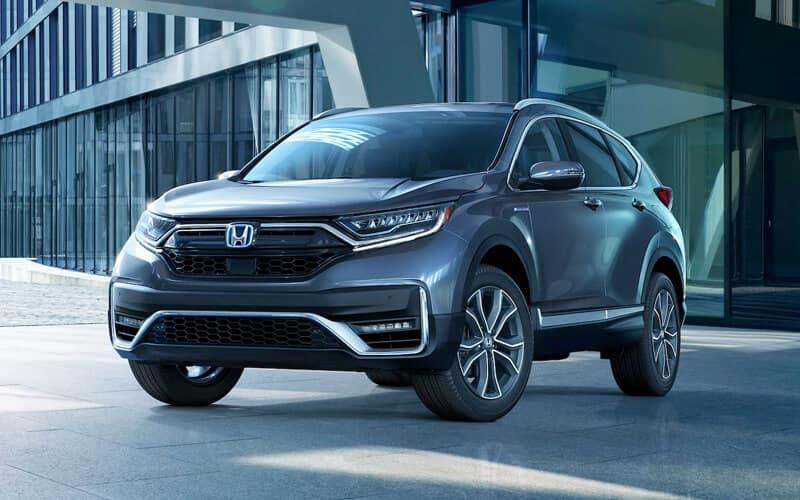 2020 Honda CR-V Hybrid Exterior Design Front Angle