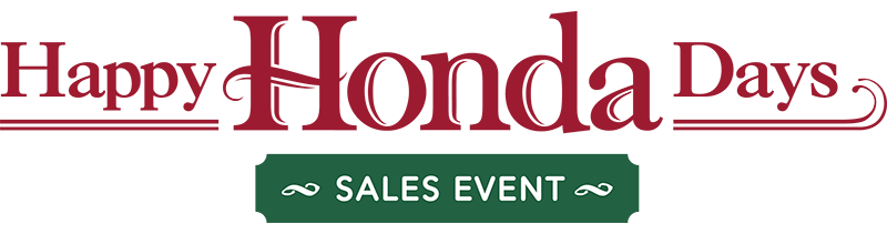 2019 Happy Honda Days Sales Event Logo