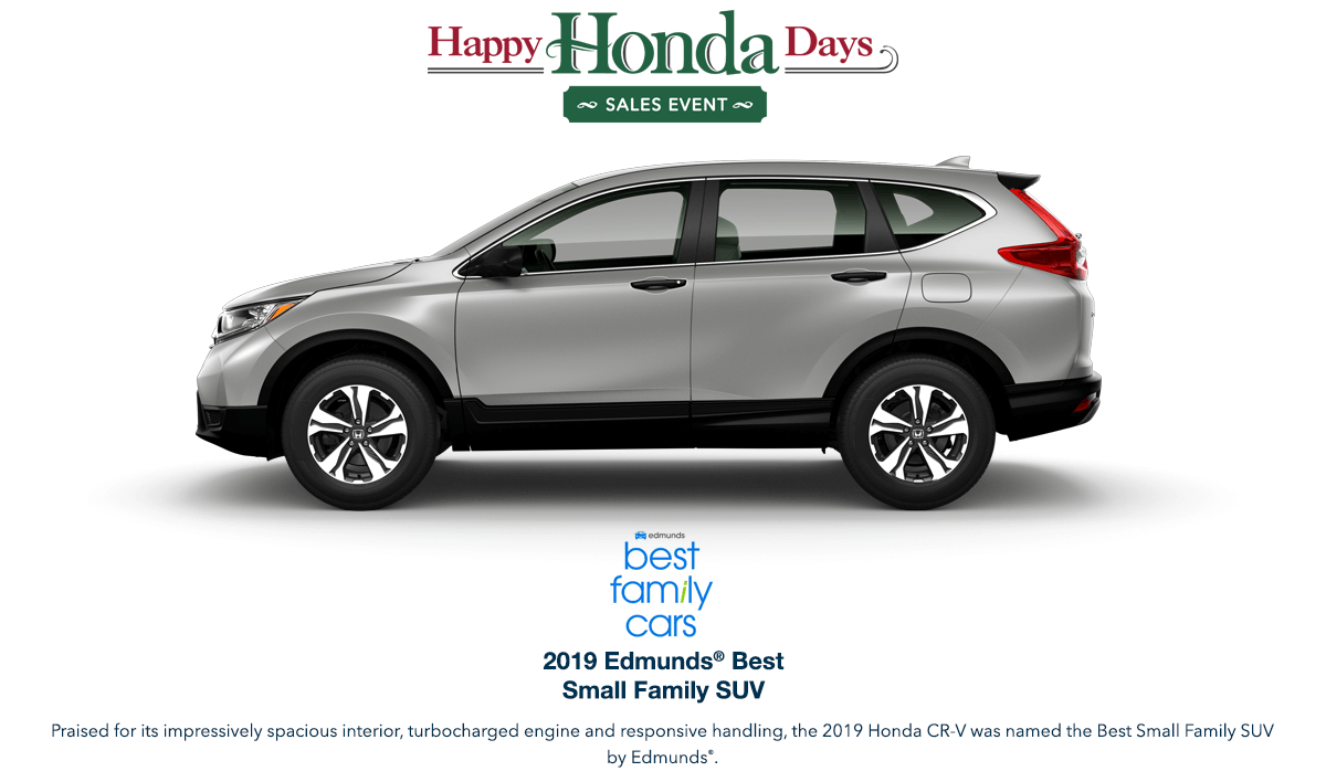 2019 Honda CR-V HHD Award Hero