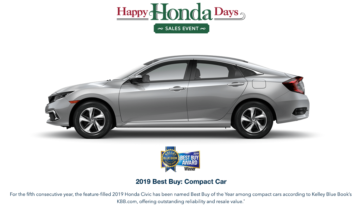 2019 Honda Civic Sedan HHD Award Hero