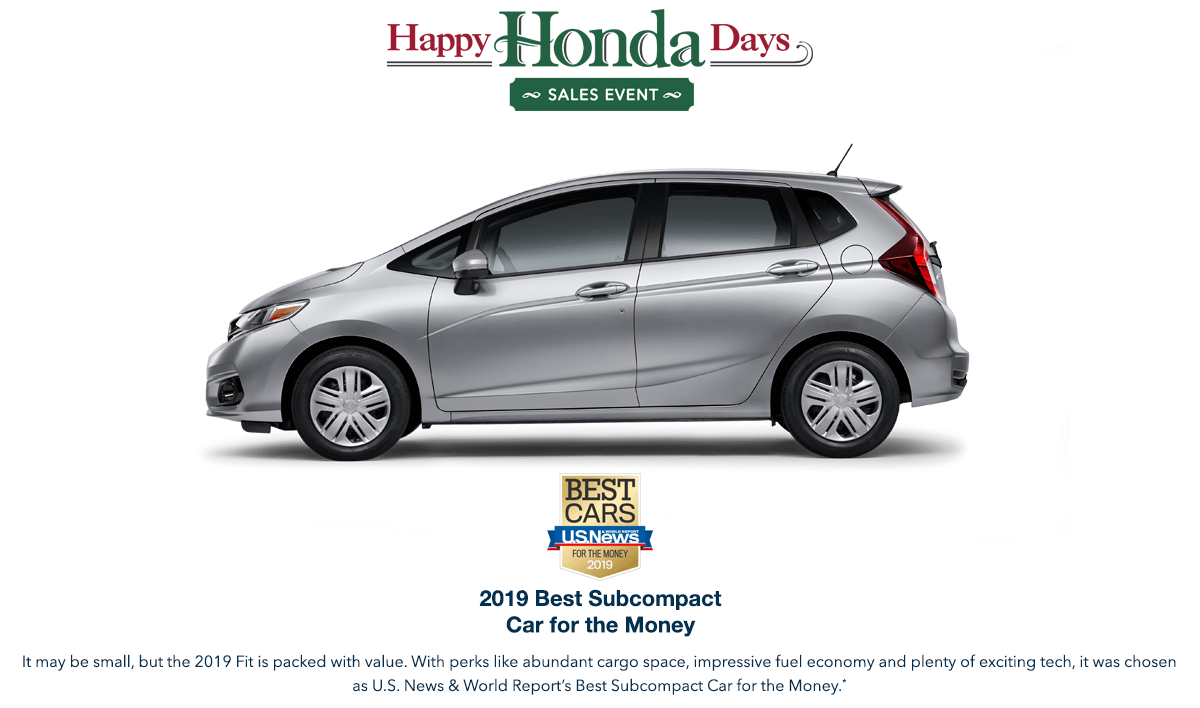 2019 Honda Fit HHD Award Hero