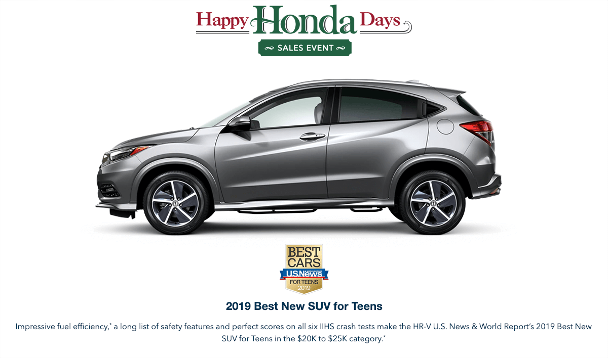 2019 Honda HR-V HHD Award Hero