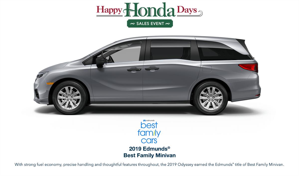 2019 Honda Odyssey HHD Award Hero