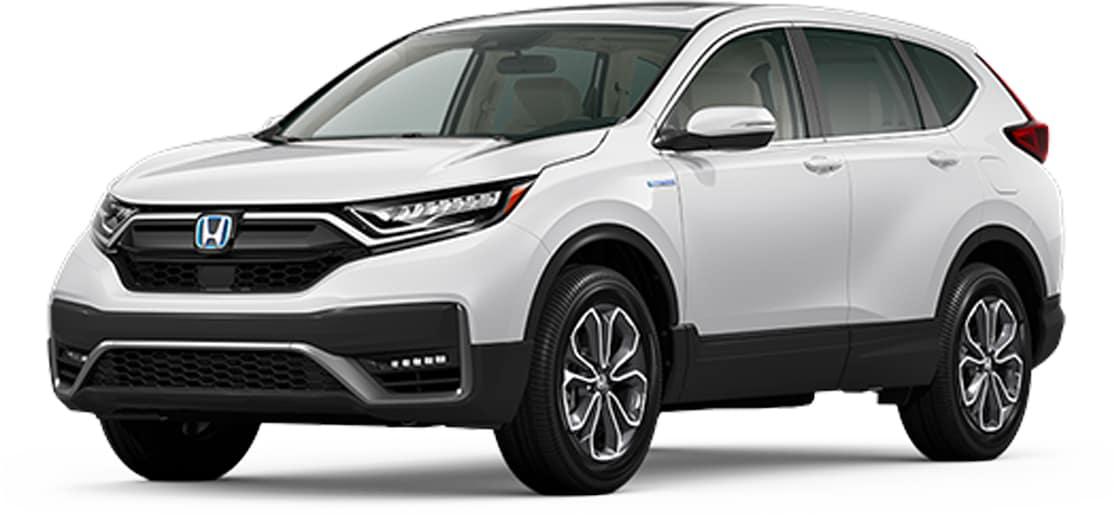 2021 Honda CR-V white