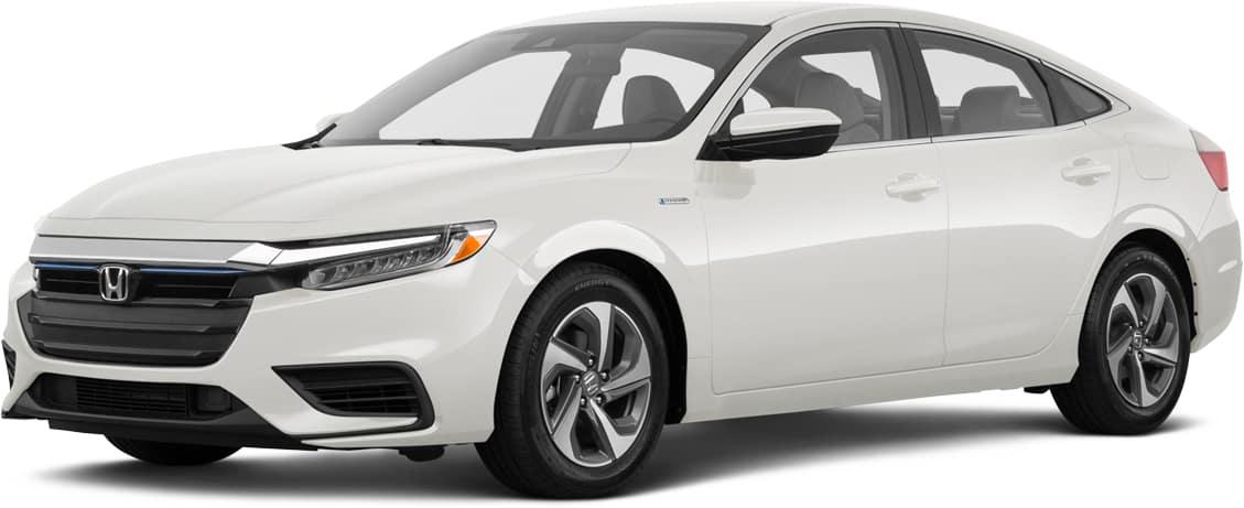 2021 Honda Insight white