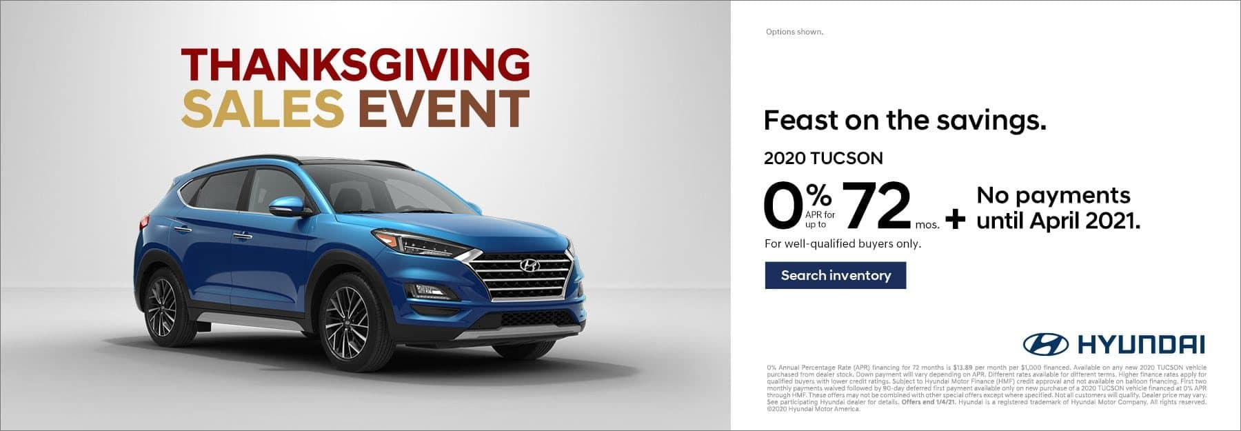Thanksgiving Sales Event Tucson