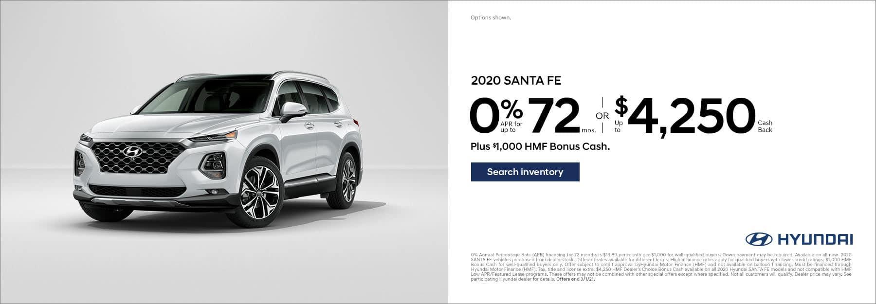2020 Santa Fe SO - Jan