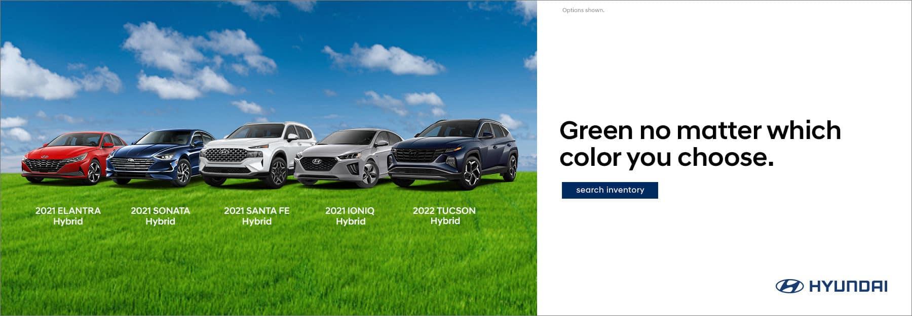 Hyundai Hybrid vehicles