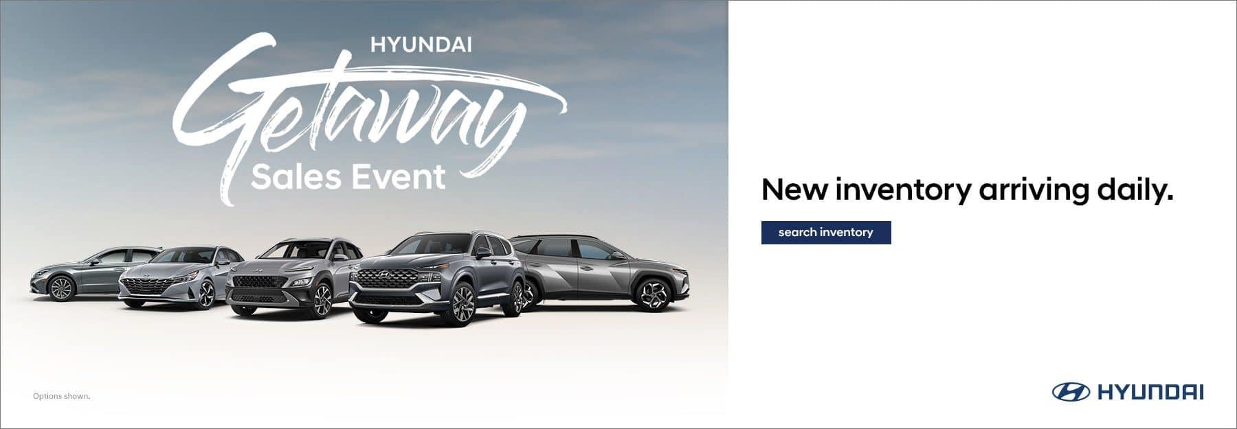 Hyundai Getaway Sales Event