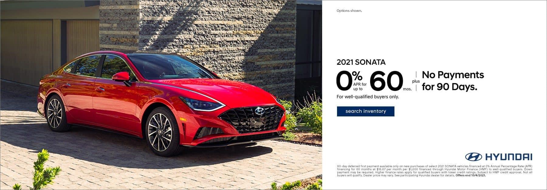 2021 Hyundai Sonata APR offer