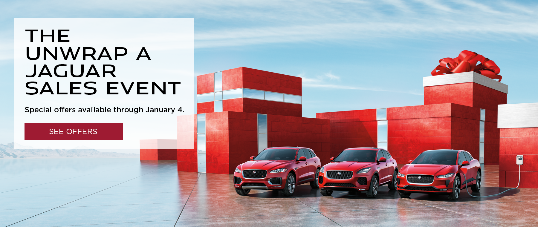 2020 Unwrap a Jaguar Sales Event