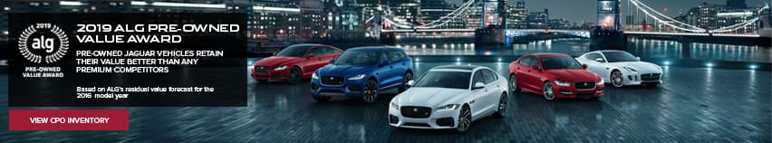 Jaguar ALG Pre-Owned Award 2019