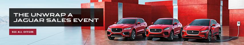 The Unwrap a Jaguar Sales Event