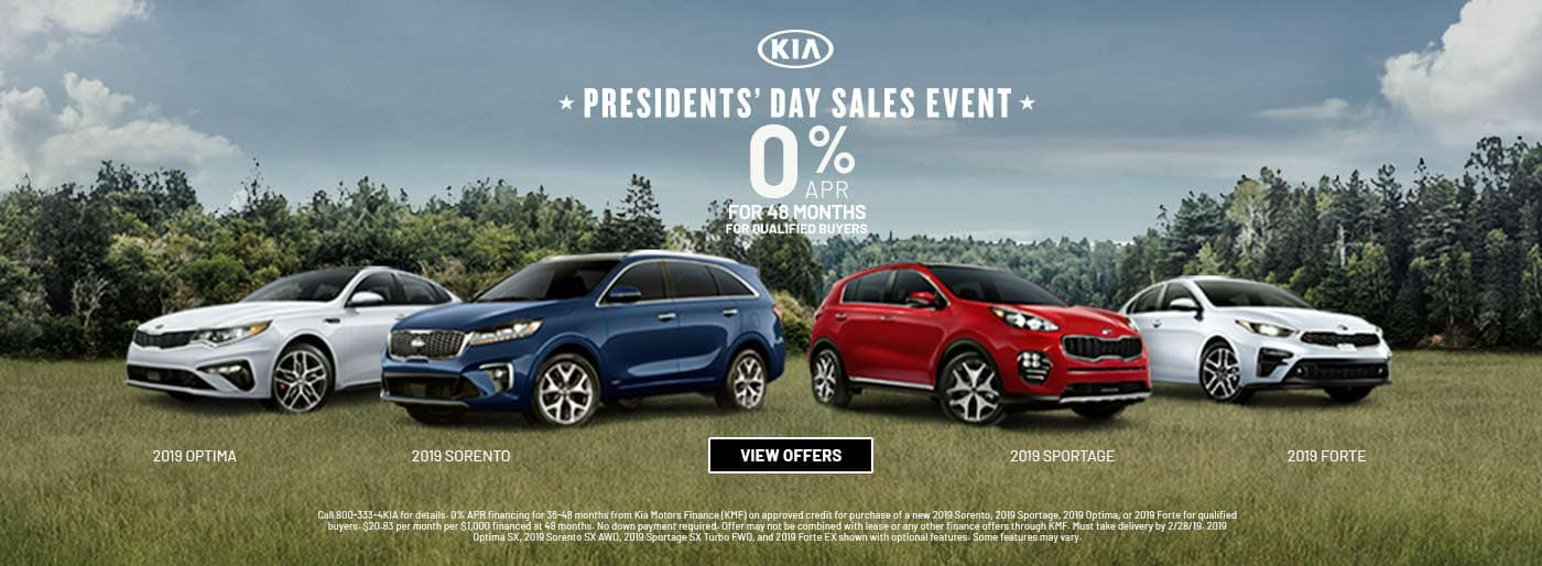 Presidents Day Sales Event 0% APR 201904
