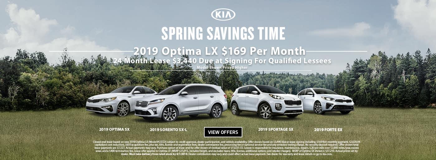 Spring Savings Time Optima Lease 201906