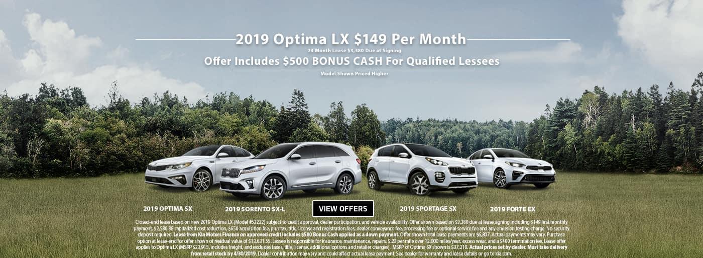 April Optima Lease 201909