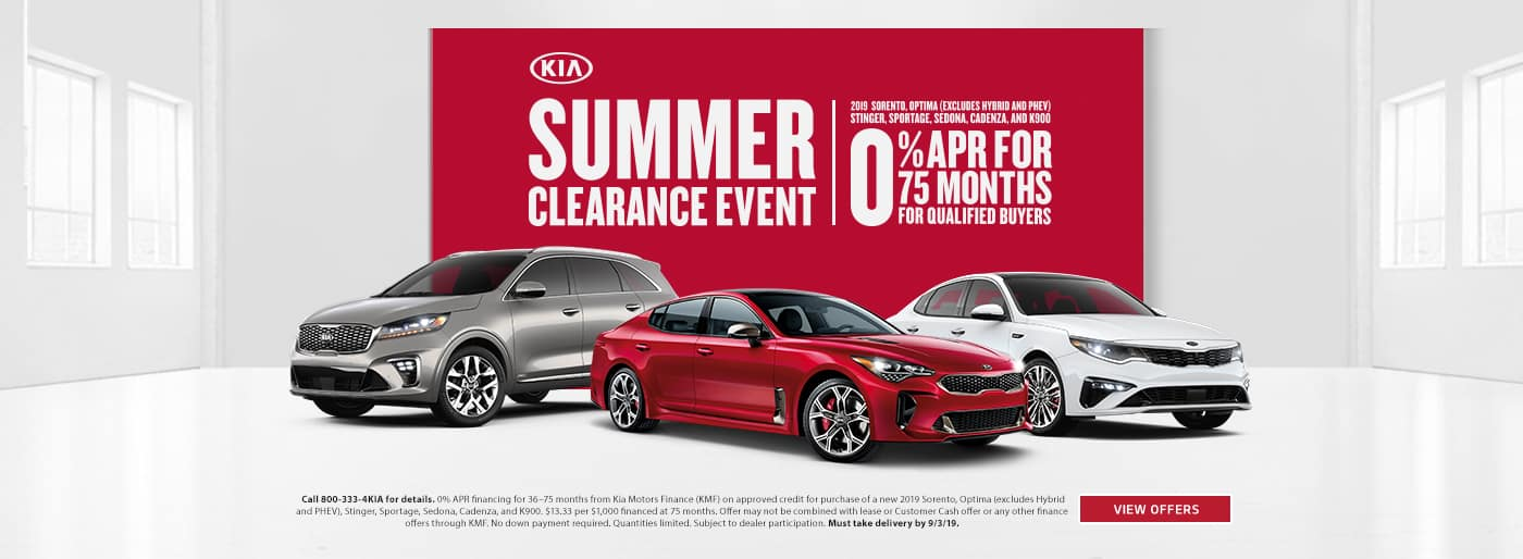 Summer Clearance Event 201915