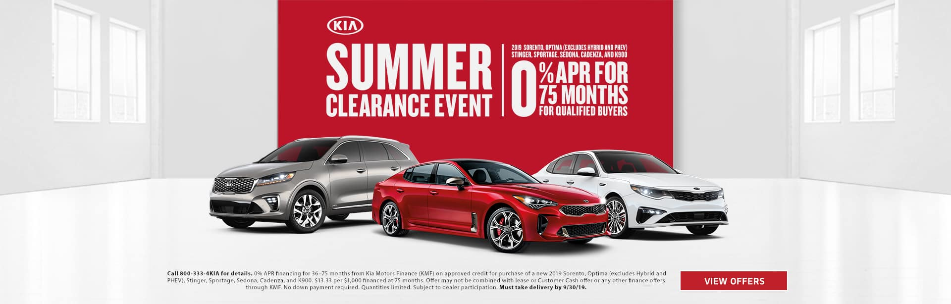 Summer Clearance Event 201918
