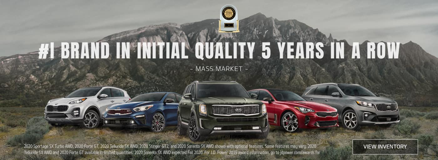 Kia JD Power Award 201920