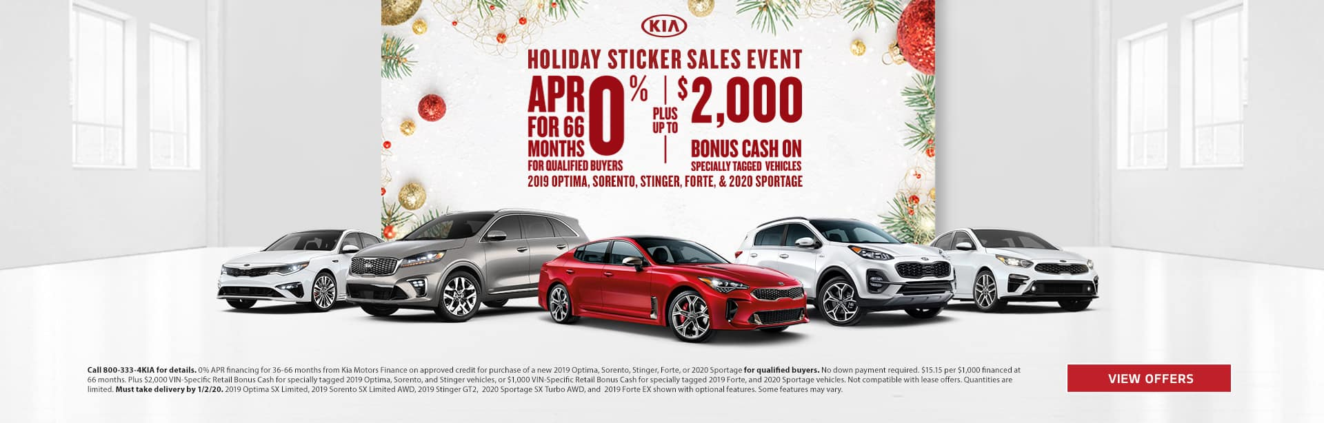 Holiday Sticker Sales Event 2019