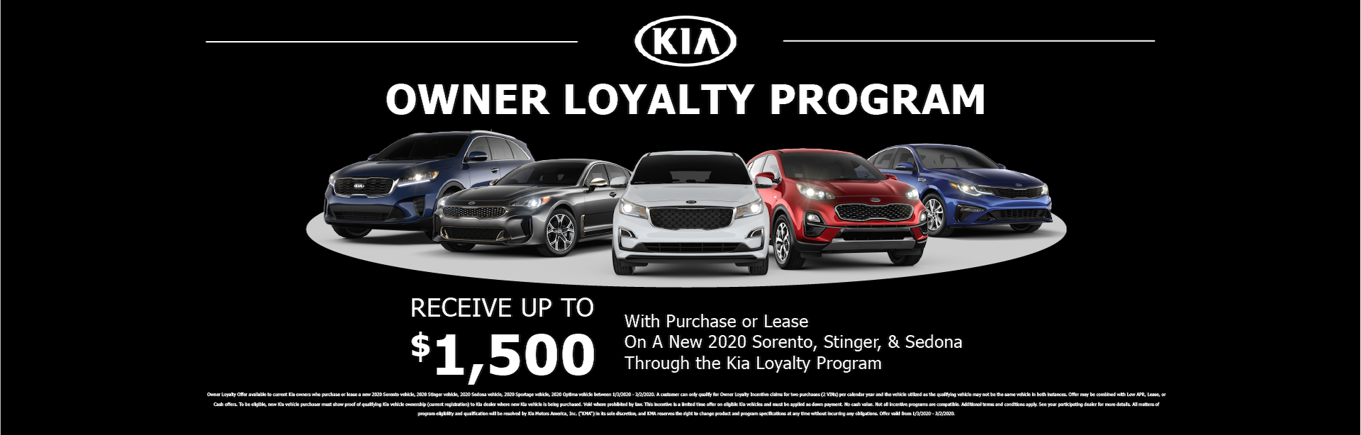 Owner Loyalty Program 202005