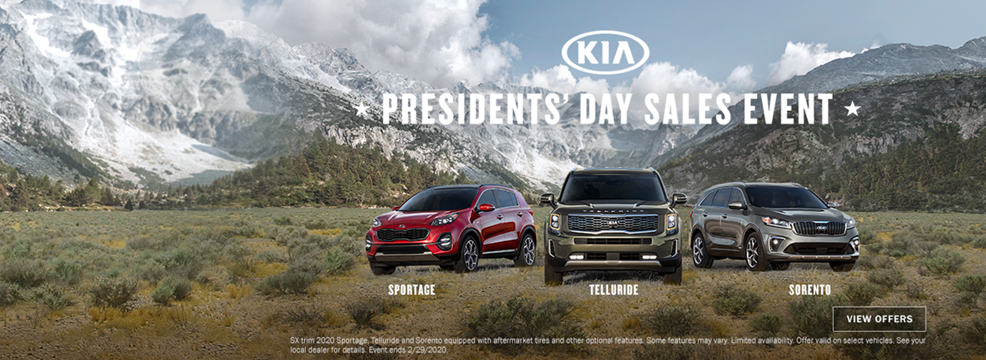 Kia Presidents Day Sales Event 202007