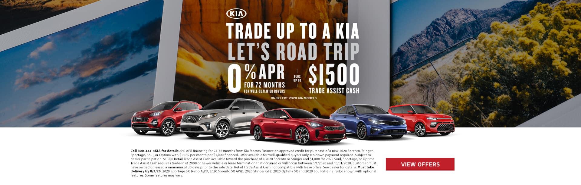 Kia Trade Assist Program