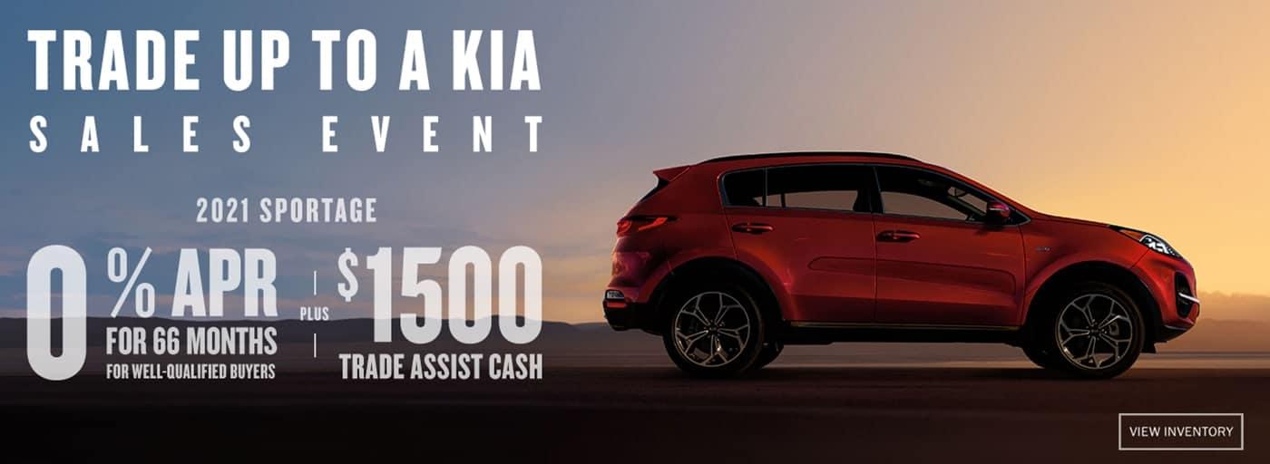 2021 Kia Sportage - Trade up To a Kia Sales Event