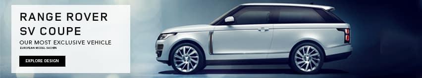 Range Rover SV Coupe Slider