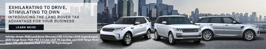 Land Rover Tax Advantage Campaign