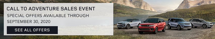 Land Rover Call to Adventure Sales Event