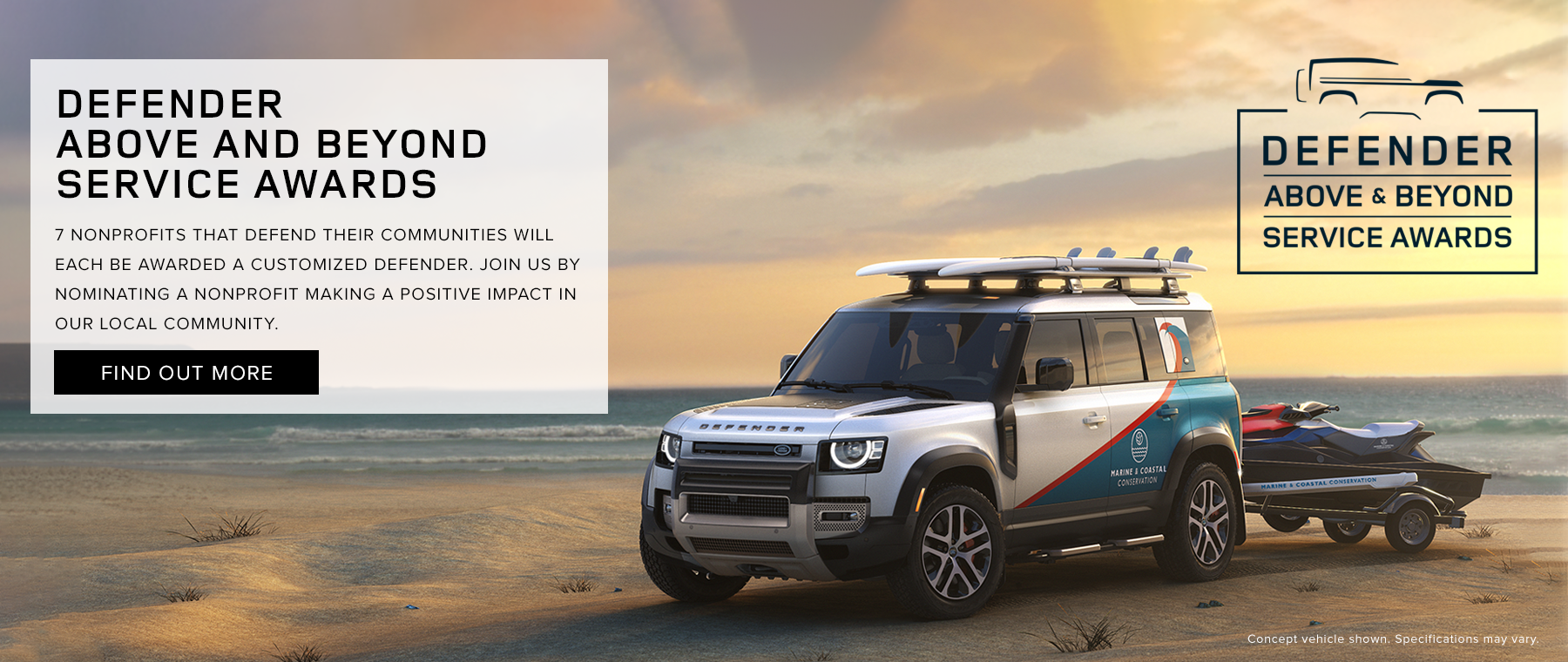 Defender Above and Beyond Service Award 1800×760 – Dealer Inspire Large