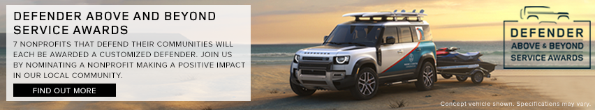 Defender Above and Beyond Service Award 852×158 – Dealer Inspire Small