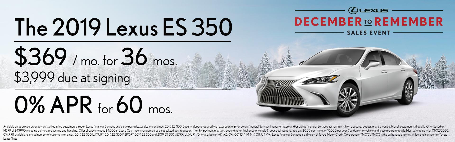 2020 ES 350