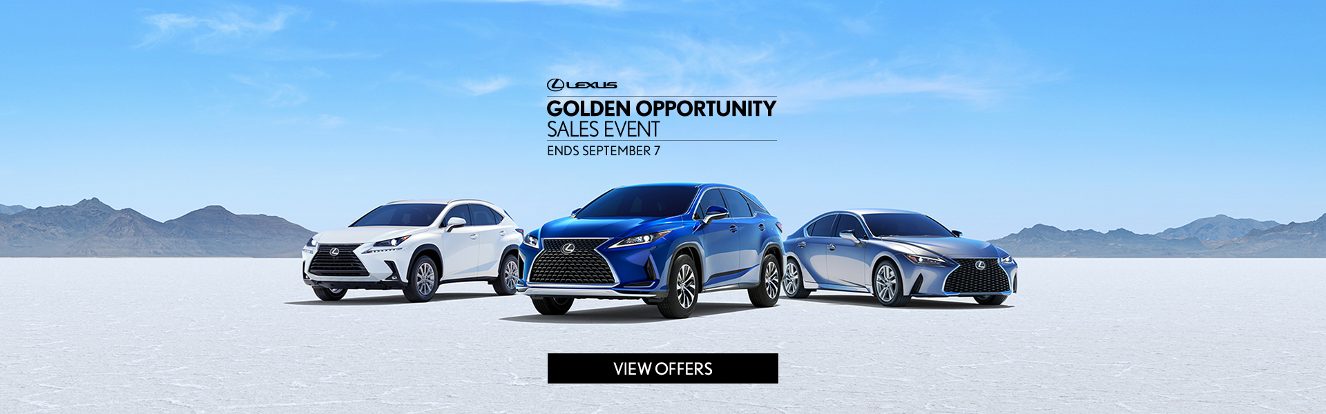Golden Opportunity Sales Event