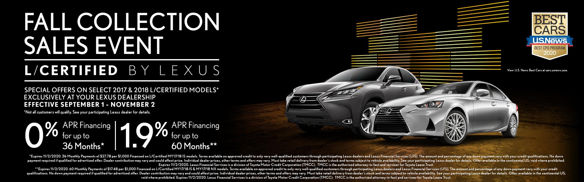 Lexus FSE – 9/18/2020