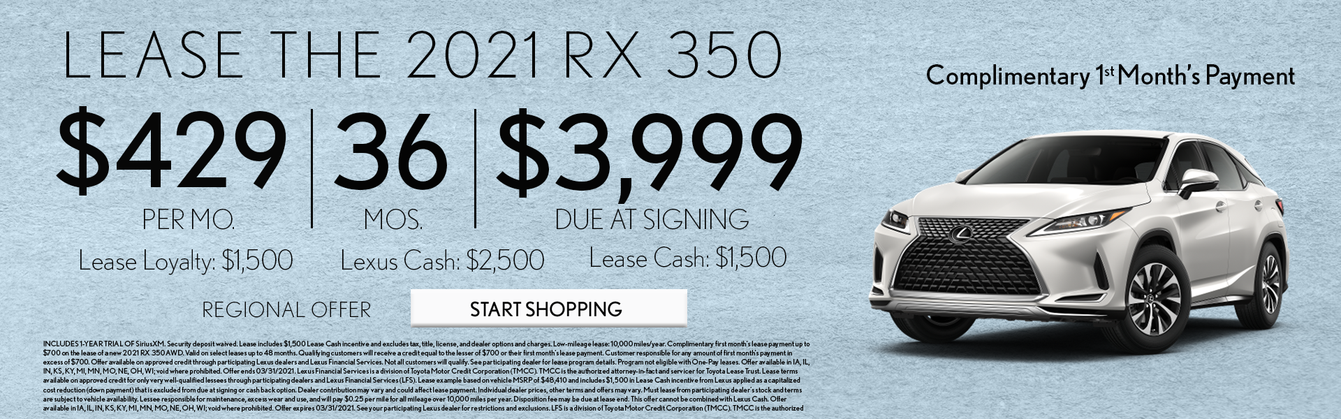 March RX Offer Banner