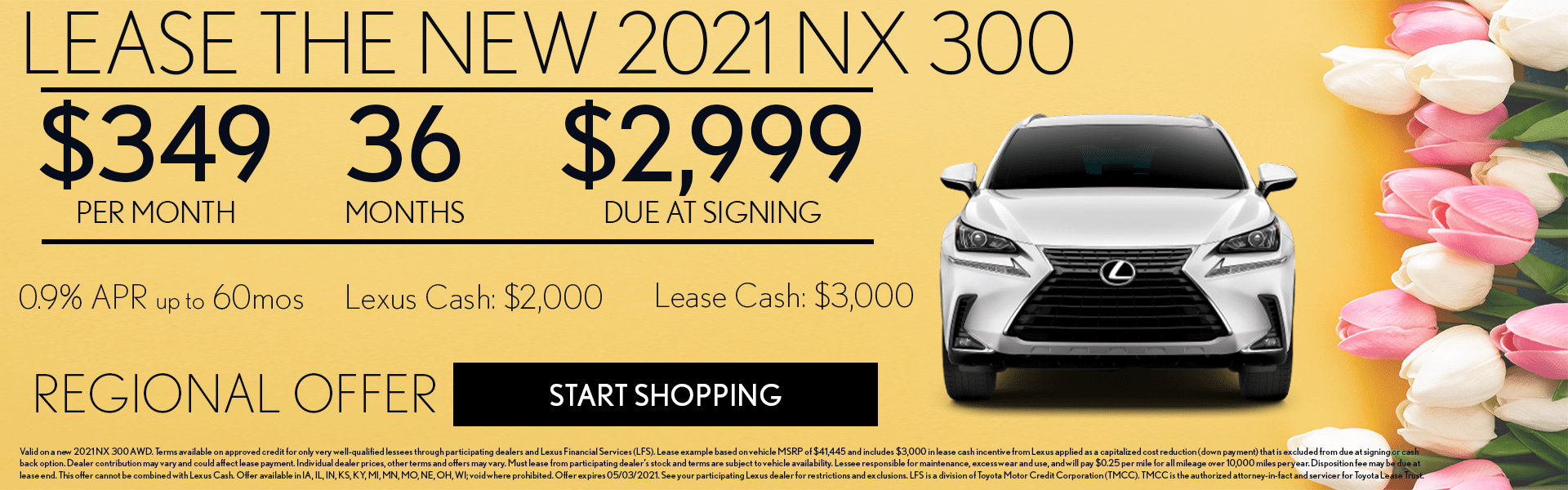2021 Lexus NX offer